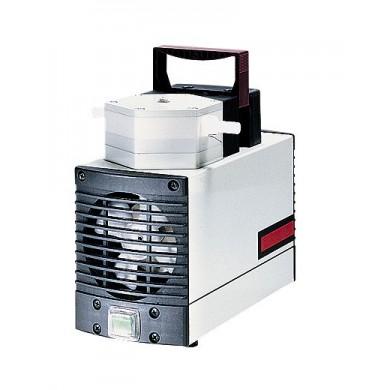 """KNF Solid PTFE Vacuum Pump, PTFE/FFKM; 0.71 cfm/27""""Hg-15 psi/115V - N820 FTP"""