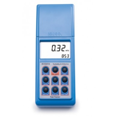 HI93414-01 - Turbidity and Free/Total Cl2 Portable Meter - Hanna Instruments
