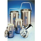 SS333 - DILVAC Stainless Steel Cased Dewar Flasks - SCILOGEX