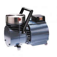 "KNF Corrosion-Resistant Vacuum Pump; PTFE/SS/1.2 cfm/27""Hg-60psi/115V - N035 STP"