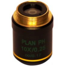 Phase Contrast Objective PLAN achromatic IOS 10x / 0.25, Optika M-760