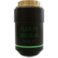 Phase Contrast Objective PLAN achromatic IOS 20x/0,40, Optika M-761