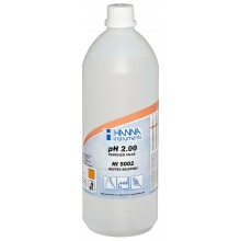 HI5002-01 Technical Buffer Solution with Certificate, 2.00 pH, 1L Bottle - Hanna Instruments