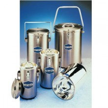 SS333 - DILVAC Stainless Steel Cased Dewar Flasks - SCILOGEX